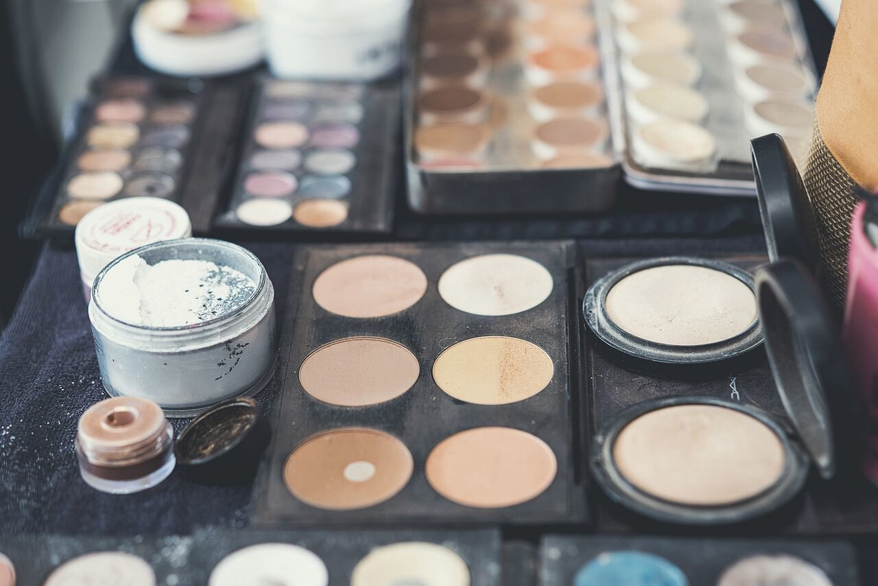 Palette de maquillage mariage