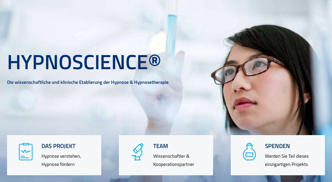 HypnoScience® Projekt wird von der Hypnosepraxis Lebens-Energie aus Frauenfeld unterstützt
