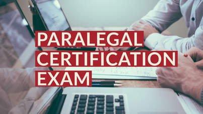 Paralegal certification exam