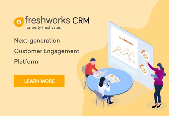 Freshworks provides businesses with SaaS customer engagement solutions