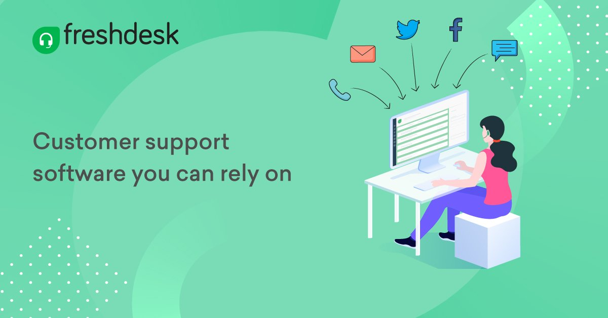 Freshdesk is a cloud-based customer service software that enables businesses of all sizes to deliver stellar customer support.