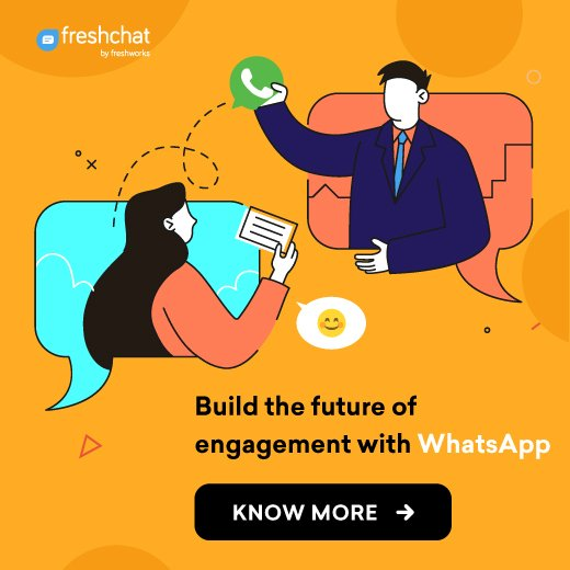 Freshchat is a modern messaging software built for sales and customer teams to talk to prospects and customers on the website, mobile app, or social pages.