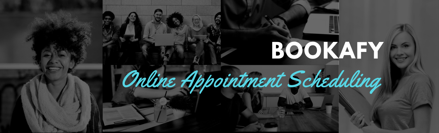 Bookafy is an online booking platform for meetings, demos and appointments that includes a booking page or website integration.