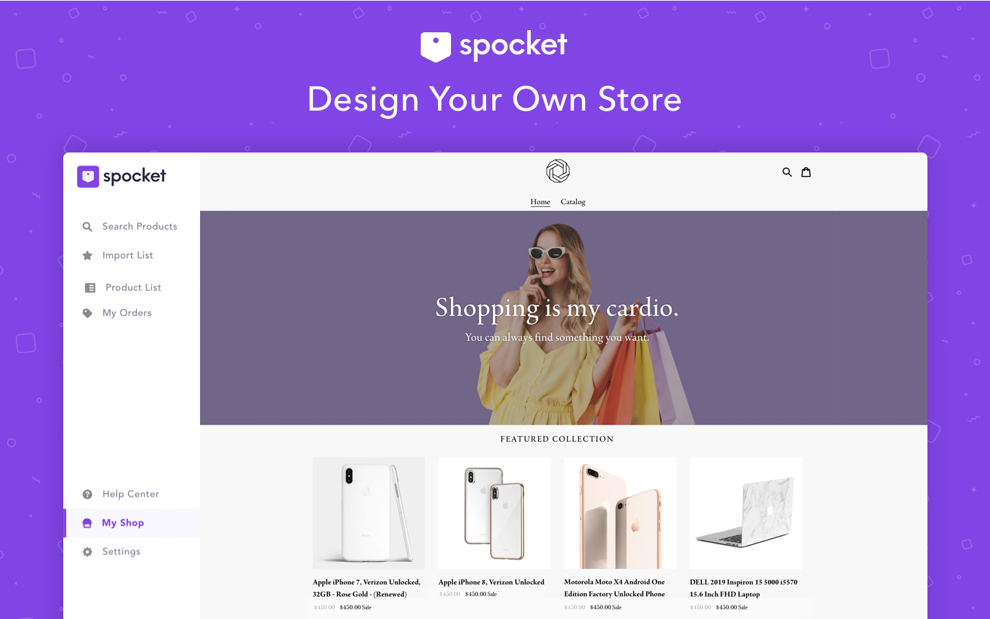 Spocket helps dropshippers around the world discover and dropship US/EU based products.