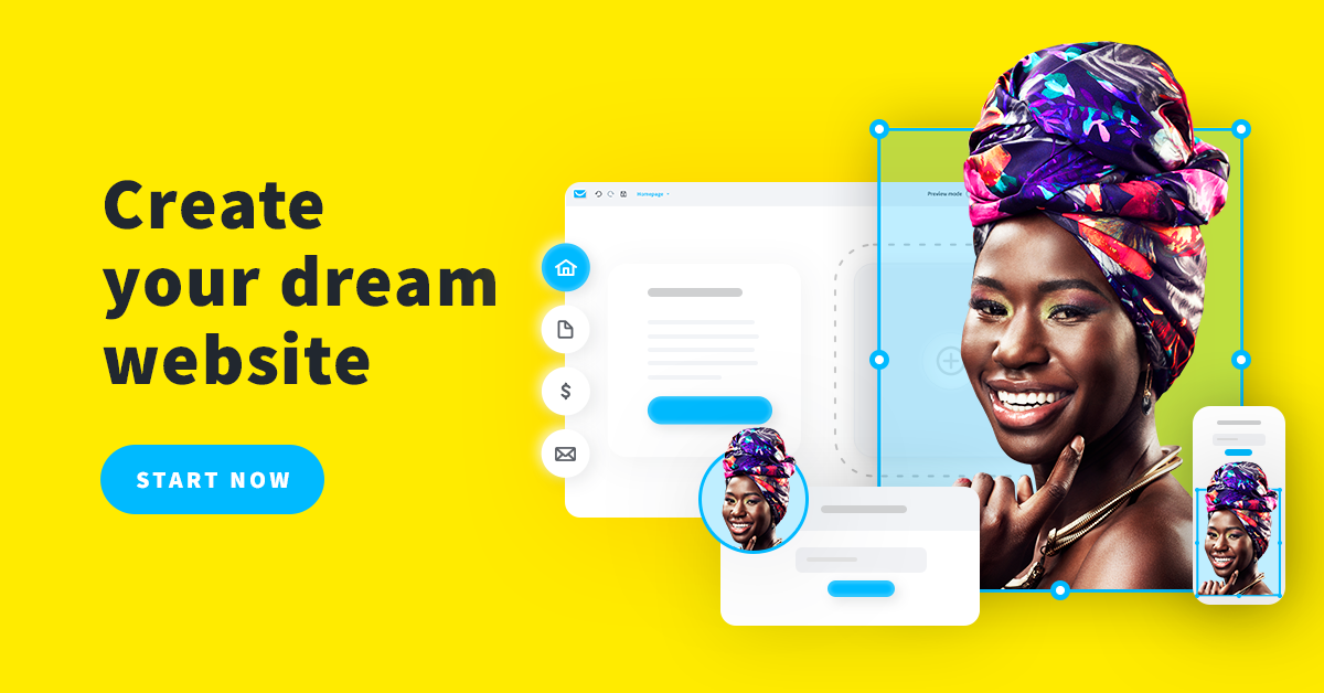 With our AI-driven, no code website builder, you can design a professional website without any previous experience using free website builder templates.