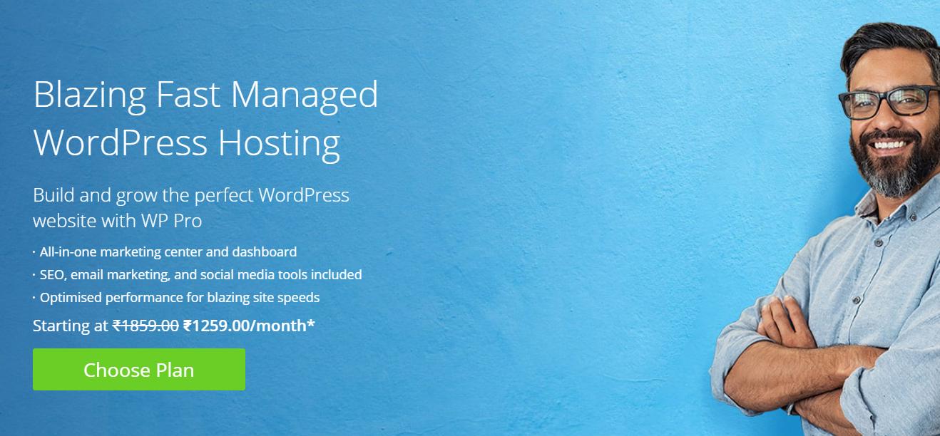 Blazing fast managed WordPress Hosting