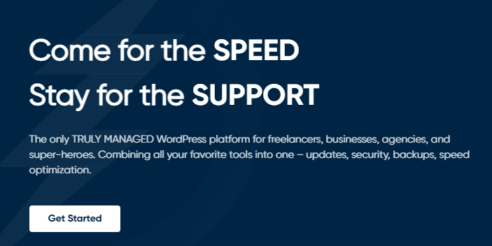 BionicWP offers guaranteed page performance for all websites hosted on the platform. It promises a 90+ page speed score on GTMetrix and Google Page Speed score.