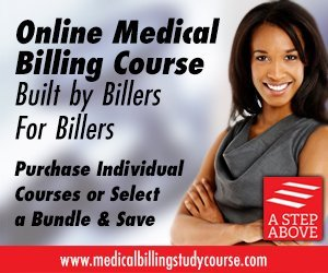 A complete online course in medical billing designed specifically for the student who wants to get a job or start a business in medical billing.