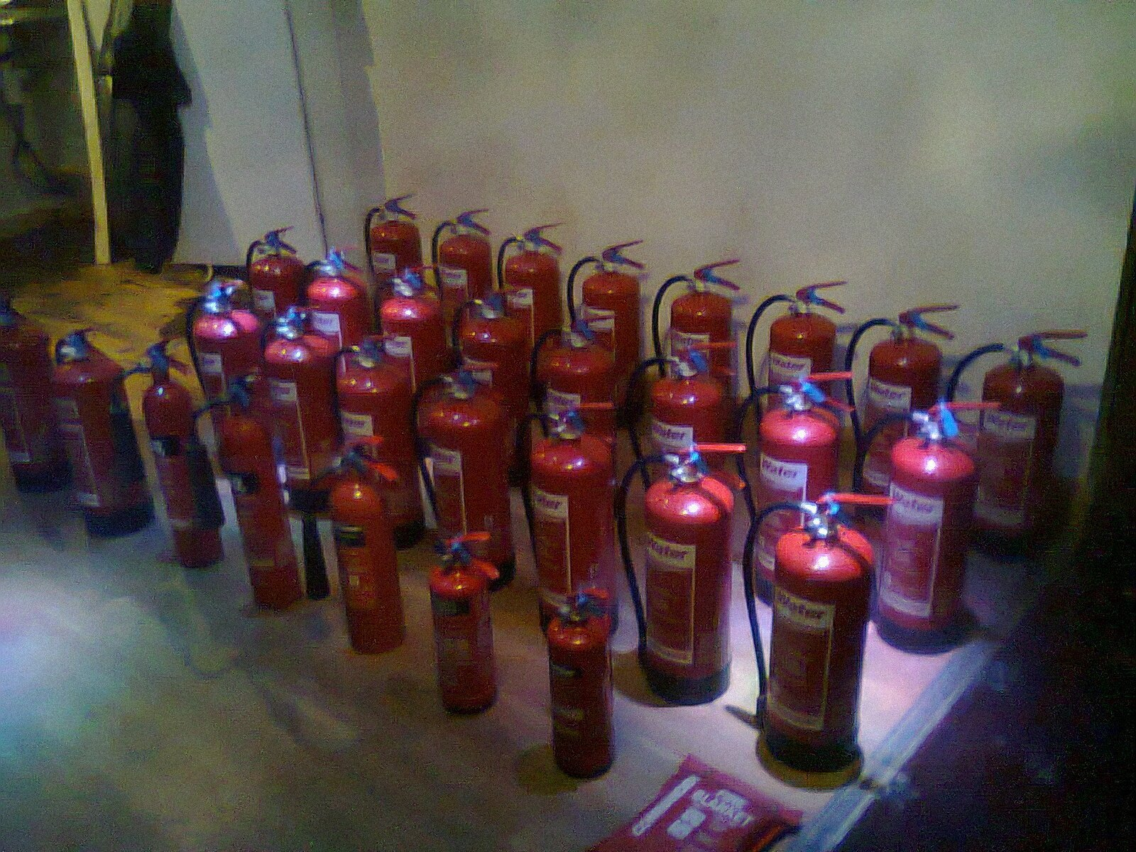 Fire Extinguisher Service & Maintenance - Annual Survey & Certificate to meet BS 5306-3: 2017 - Reading, Berkshire