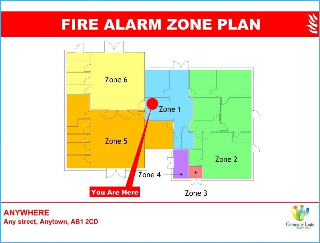 Fire Alarm Zone Plans & Fire Alarm Identification Zone Plans - Reading, Berkshire