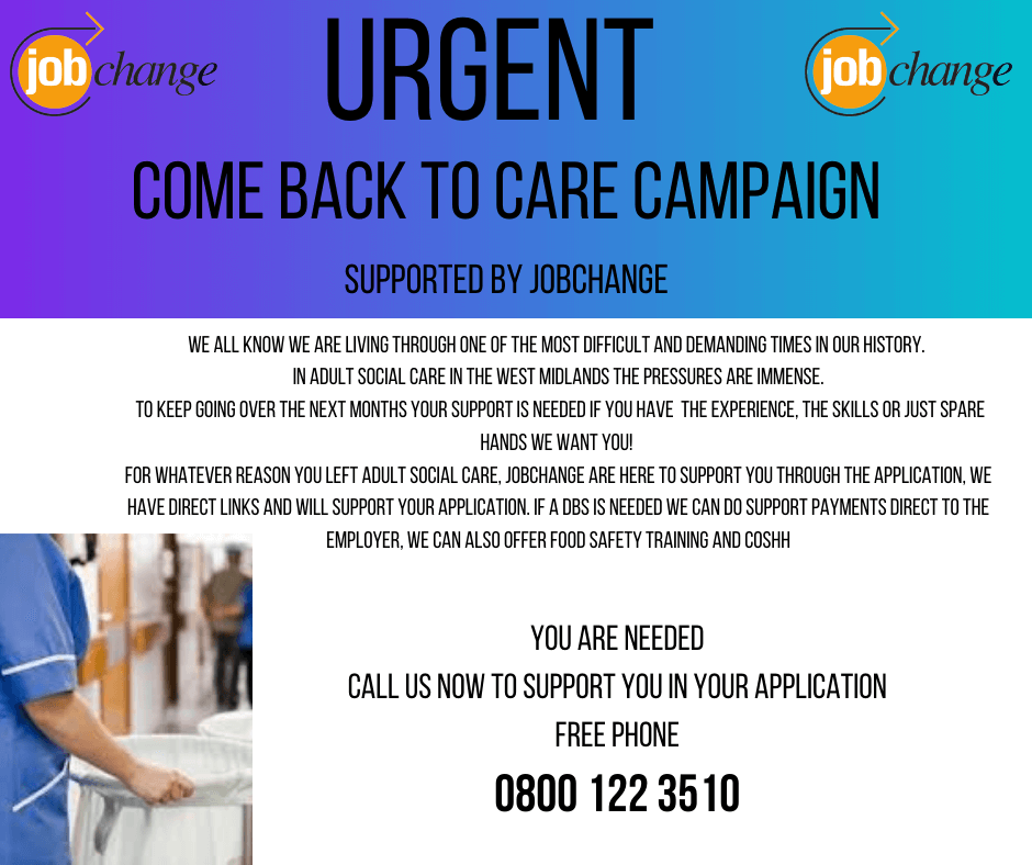 The Come Back To Care Campaign
