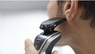 Rifinitore di precisione SmartClick per baffi e basette