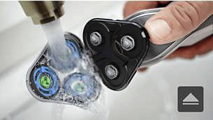 Apertura con un solo tocco per una pulizia semplice