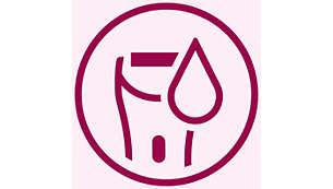 Wet & Dry per l'utilizzo nella vasca o sotto la doccia