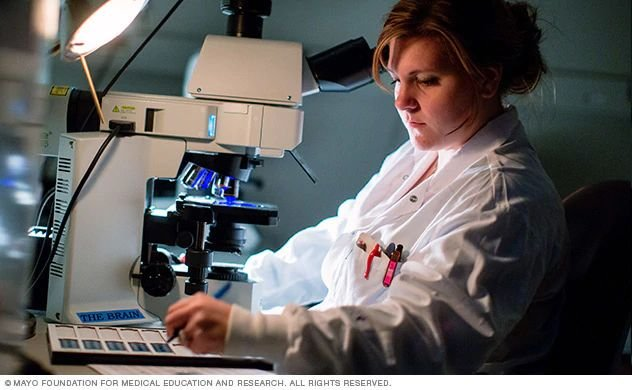Multiple sclerosis research laboratory