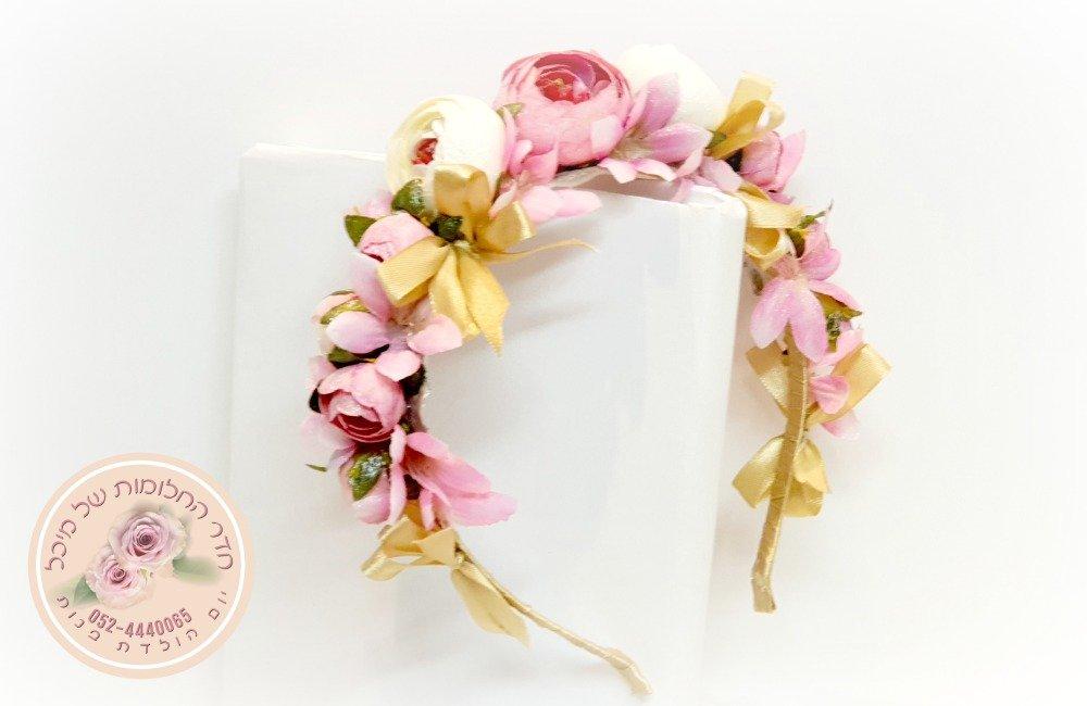 סדנת עיצוב פרים לבת מצווש, שזירת זרי פרחים כסדנת בת מצווה, ערכת עיצוב זר לראש עד הבית