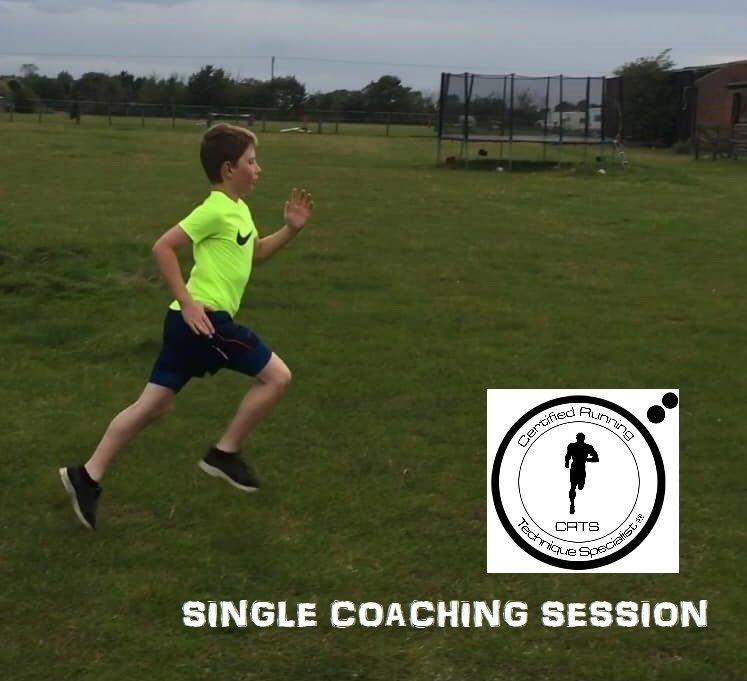 Run coaching, Junior run coaching, run technique coaching
