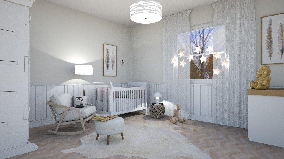 הדמיה לחדר תינוק