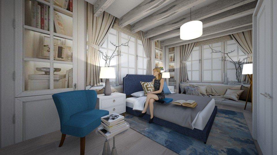 סויטת הורים בסגנון כפרי בדירת קבלן