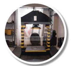 prensa média para pneus maciços