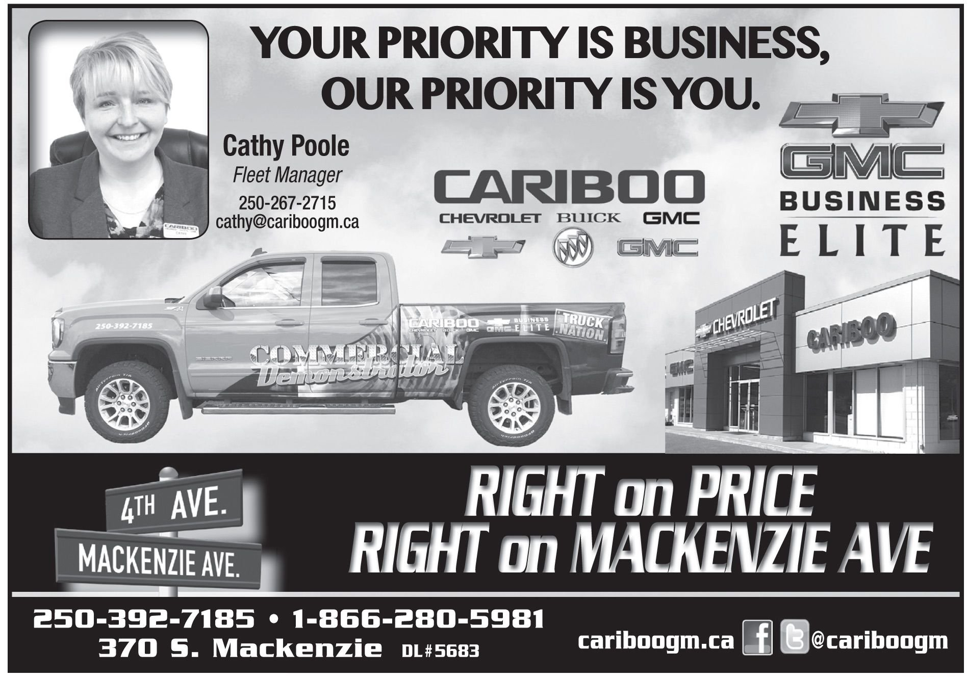 Please take a moment to visit our wonderful sponsors, Cariboo Chevrolet Buick GMC Ltd..  Click here.