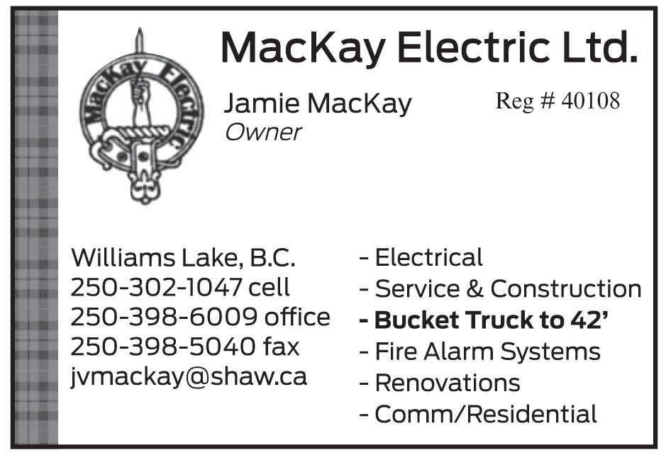 Please take a moment to visit our wonderful sponsors, MacKay Electric LTD.  Click here.
