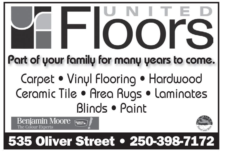 Please take a moment to visit our wonderful sponsors, United Floors.  Click here.