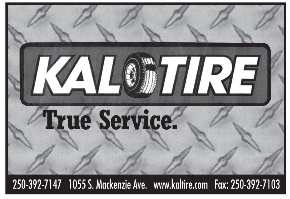 Please take a moment to visit our wonderful sponsors, Kal Tire (Williams Lake).  Click here.