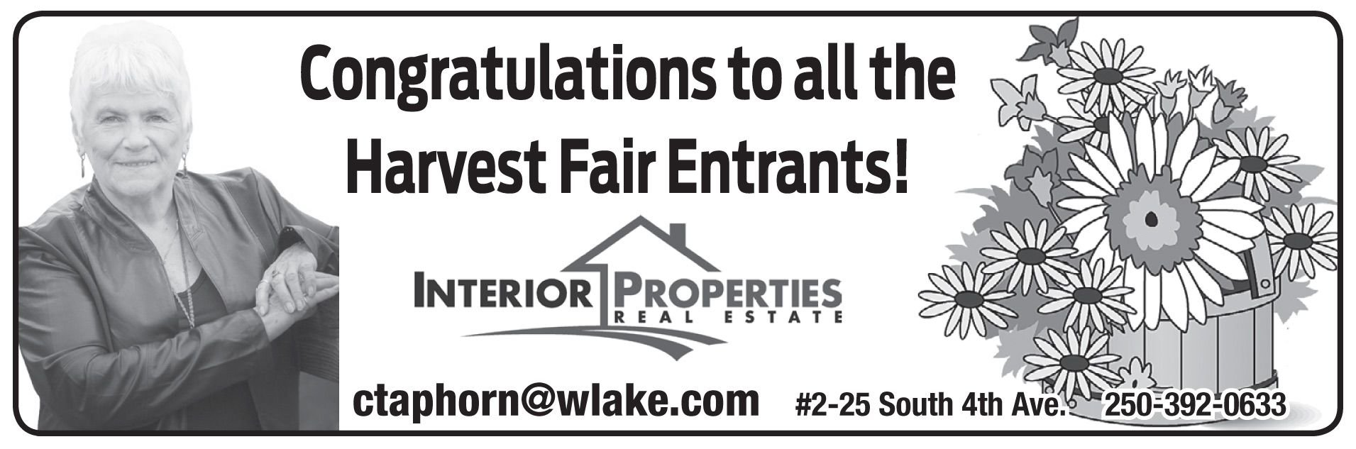 Please take a moment to visit our wonderful sponsors, Carol Taphorn Interior Properties Real Estate.  Click here.