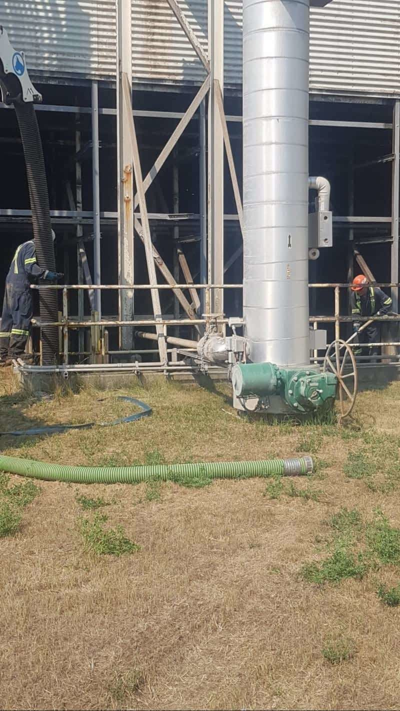 Hydro va and dry vac services for mines, mills and other commercial or industrial projects in the Cariboo-Chilcotin regions.  Triple P Sanitation.