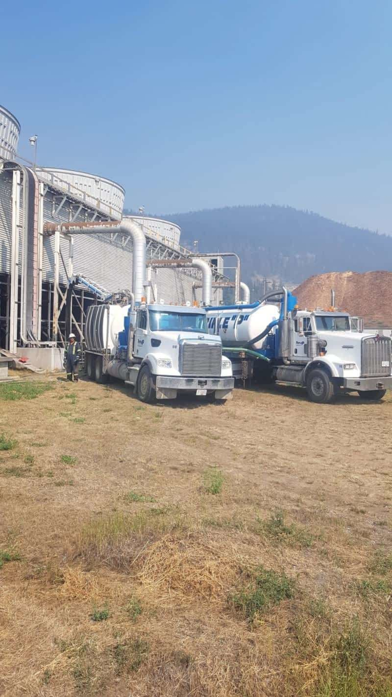 Vacuum trucks in Williams Lake, BC; wet or dry.