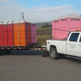 Portable toilet rentals in Williams Lake, BC from Triple P Sanitation