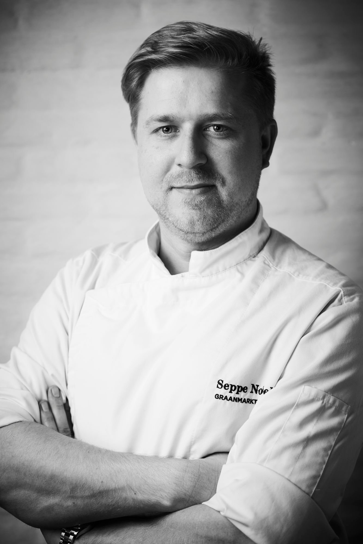 Chef Seppe Nobels van restaurant Graanmarkt 13 is vol lof over ons Belgisch witloof