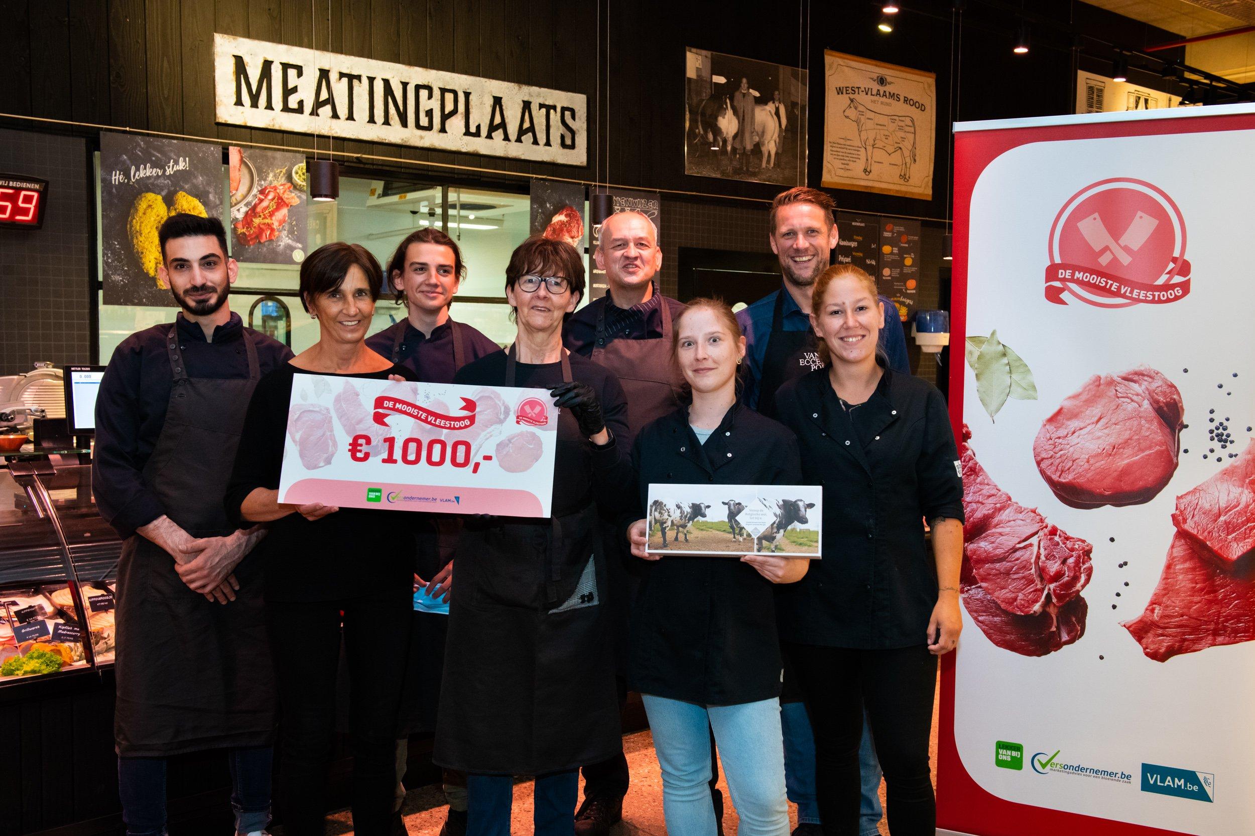 Winnaar Mooiste Vleestoog 2021, categorie buurtsuper: Versmarkt Van Eccelpoel uit Herentals