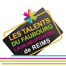 logo talents du faubourg quartier de laon