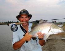 Fly Fishing in Boon Mar Ponds, Bangkok - Fly Fishing Advice Thailand