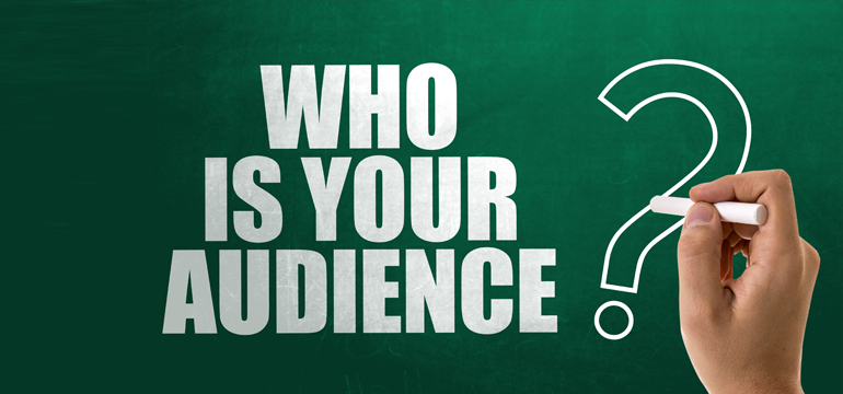 Who is your audience image