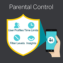 Archer C4000, strong wi-fi signals, parental control