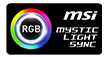 MSI MYSTIC LIGHT SYNC badge