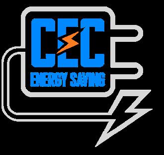 a large CEC Energy Saving logo