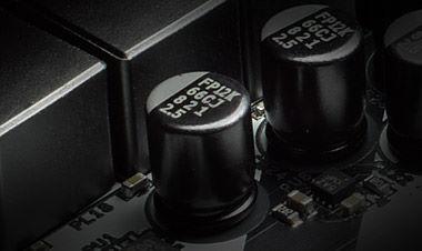 SA-Nichicon12KBlack of the motherboard