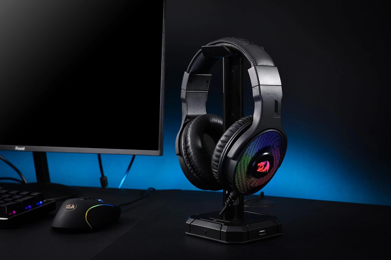 redragon rgb gaming headset