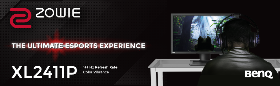 XL2411P 144 Hz Gaming Monitor 1 ms 24 inch