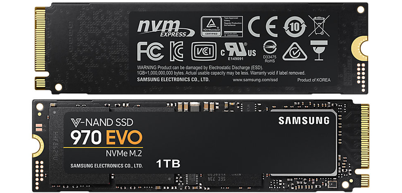 Samsung 500GB EVO SSD