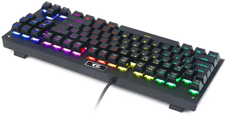 High Quality K568RGB  Mechanical Switches RGB Full Color LED Backlit Keys laptop  Keyboard Gaming