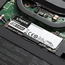 Kingston's KC2500 NVMe PCIe