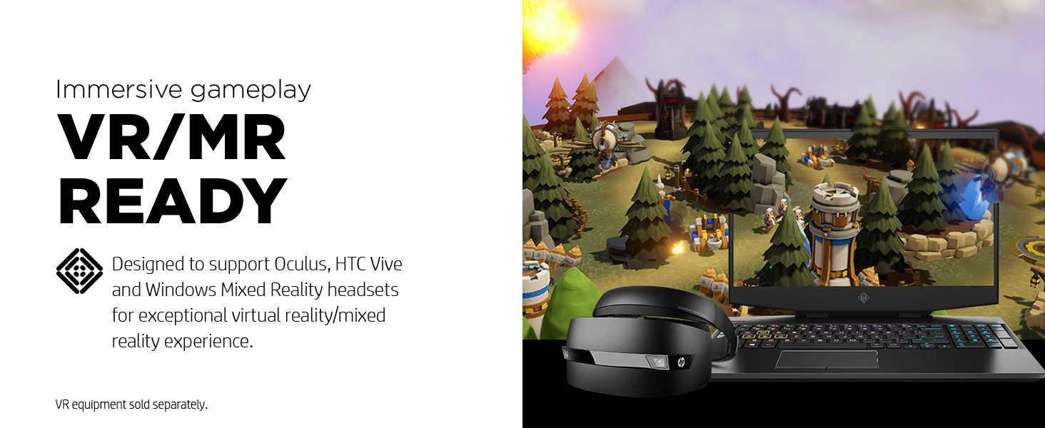VR virtual reality mixed mr capable ready immersive gameplay headset 3d oculus 360 glass gear