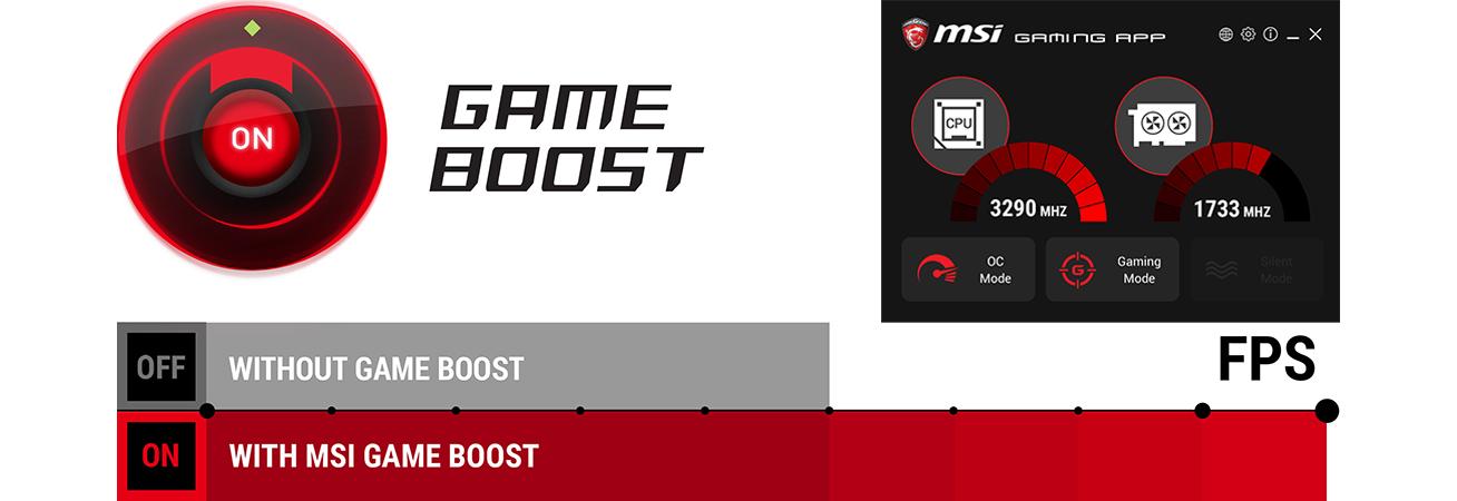 MSI x570 Gameboost