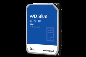 """4TB WD Blue 3.5"""" PC Hard Drive"""