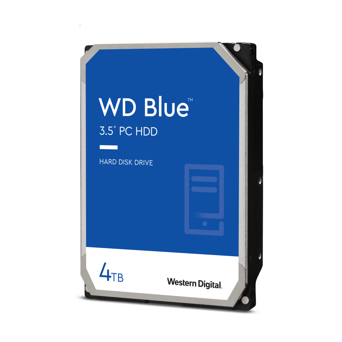 """slide 1 of 1,show larger image, 4tb wd blue 3.5"""" pc hard drive"""